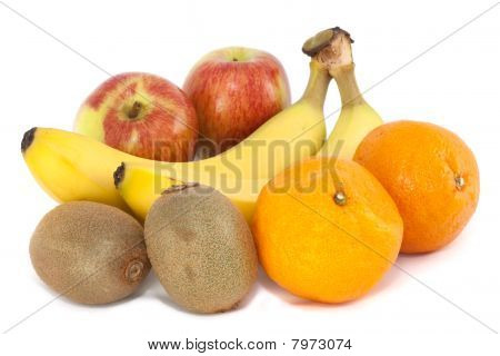 Fresh Fruit - Apples, Oranges, Bananas & Kiwi
