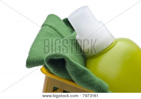 Modern Laundry Border