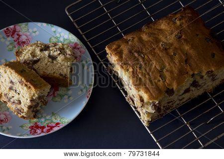 Sliced Sultana Cake