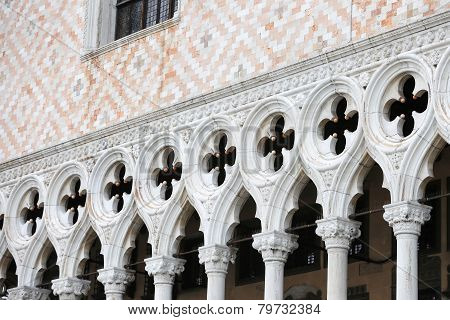 Architectural Detail Of Palazo Ducale