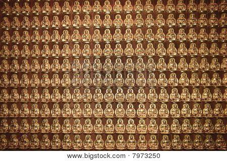 Wall Of Buddha's Miniature