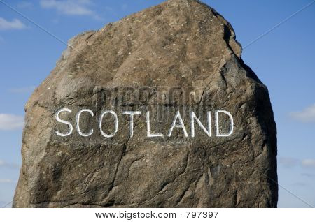 Scottish Border Marker
