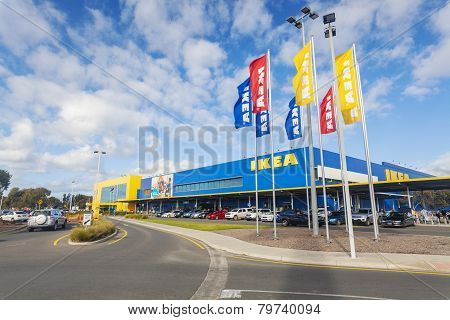 Ikea store in Adelaide, Australia
