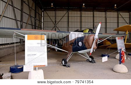 English Light Aircraft Auster J1 Autocrat