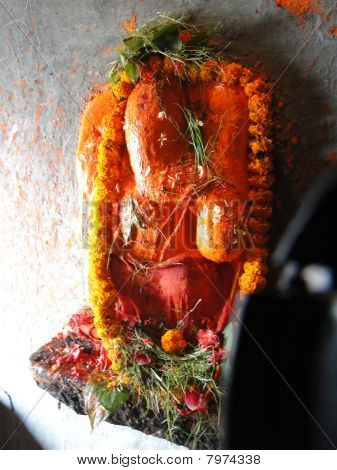 Small Ganesh Shrine