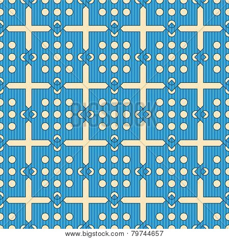 Abstract Lattice On A White Background