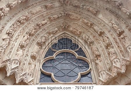 Gothic decoration of the Cathedral