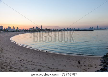 Marina Beach In Kuwait
