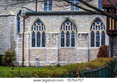 Three Church Windows