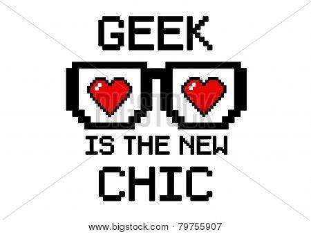 Geek chic hearth