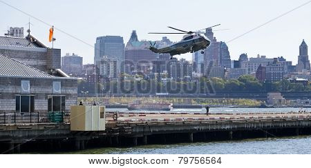New York City, Usa, Sikorsky Vh-3D