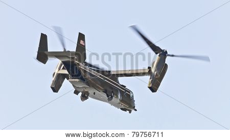New York City, Usa- Mv-22 Osprey.