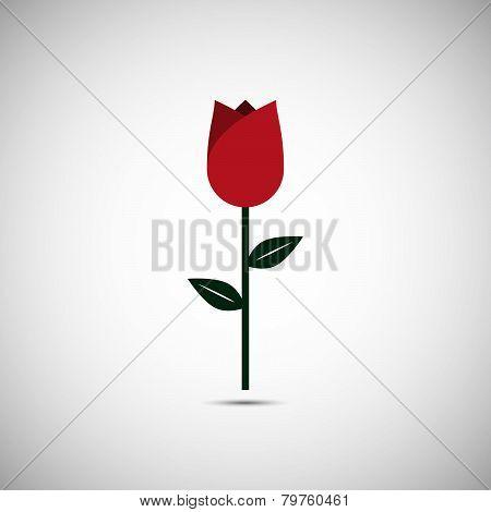 Vector Love Flower