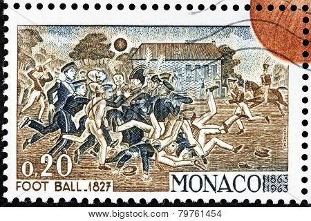 Football 1827 Stamp