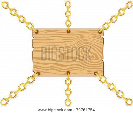 Board on chain from gild