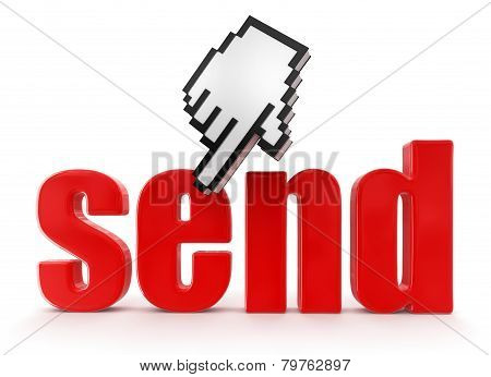 Send  and cursor (clipping path included)