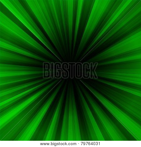Deep green regular radial centralized background
