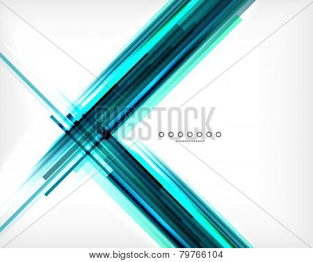 Unusual abstract background - thin straight lines, business template or layout for business card