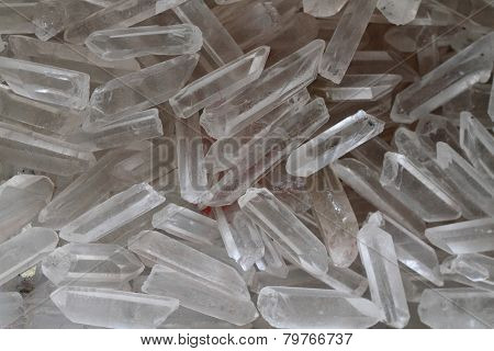 Quartz Crystal Background