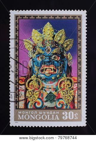 Post Stamp. Mask