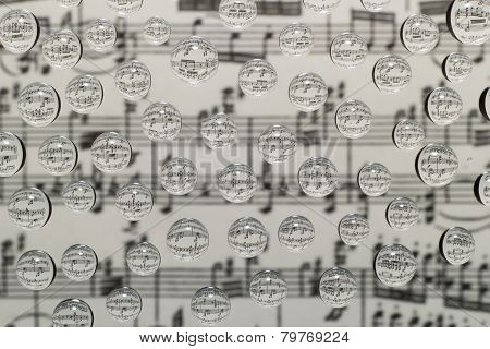 Music Waterdrops