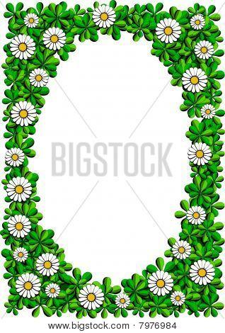 daisy cartoon frame