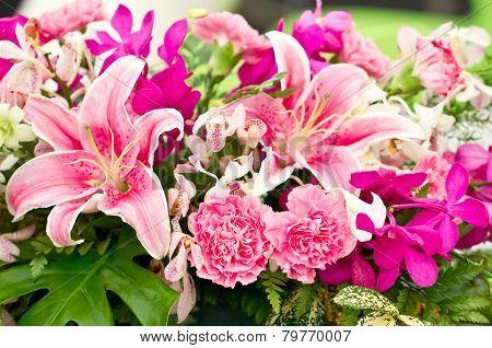 Arrangement floral.