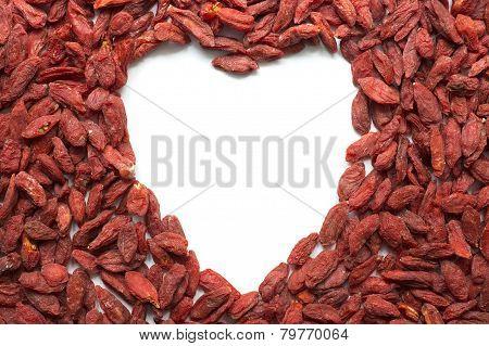 Goji Berry Heart