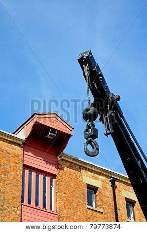 Dockyard crane, Gloucester.