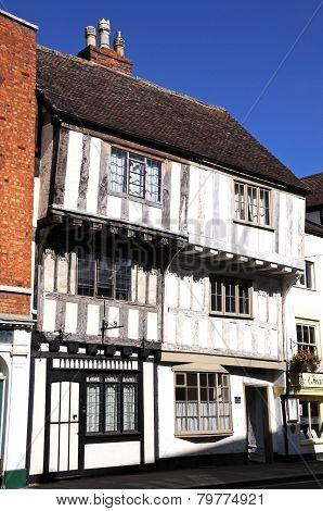 Timbered buildings, Tewkesbury.