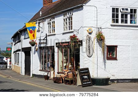 Antique shop, Tewkesbury.