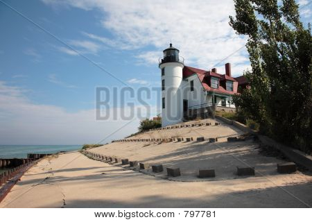 Point Betsie Lighthouse and Breakwater