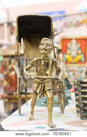 Miniature Rickshaw Puller, Indian Handicrafts Fair