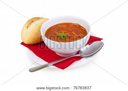 Solyanka Soup - Soljanka Suppe