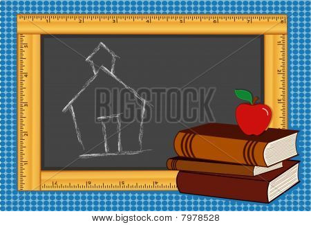 Back to School Ruler Frame