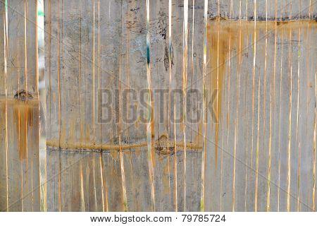 ?Brown bamboo wall texture.