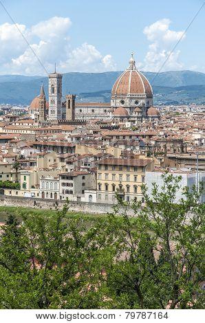 The Basilica Di Santa Maria Del Fiore In Florence, Italy
