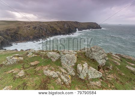 Looking towards pentire point