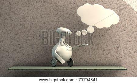 Imaginative Robot
