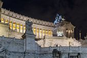 stock photo of altar  - The Altare della Patria also known as National Monument to Victor Emmanuel II is a monument built in honour of Victor Emmanuel the first king of a unified Italy - JPG