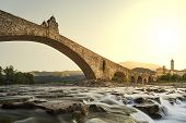 image of old bridge  - Hunchback bridge - JPG