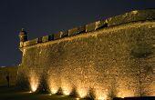 foto of san juan puerto rico  - A section of the Fort El Morro in Old San Juan Puerto Rico - JPG