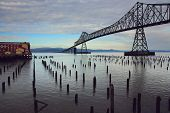 picture of bridge  - Astoria - JPG