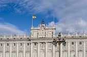 picture of royal palace  - The Royal Palace of Madrid  - JPG