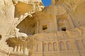 image of goreme  - Cave church in Cappadocia near Goreme - JPG