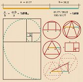 pic of leonardo da vinci  - Golden Ratio - JPG