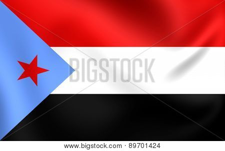 People's Democratic Republic Of Yemen Flag