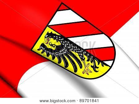 Flag Of Nuremberg, Germany.