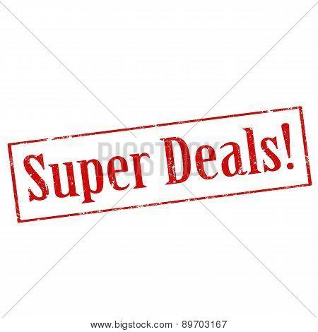 Super Deals!-stamp