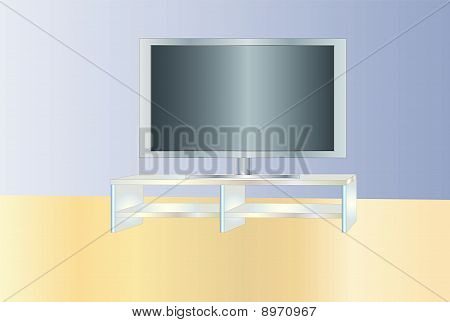 Tv Shelve ( background on separate layer )